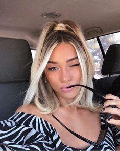 Modern Hairstyles, Cute Hairstyles, Beauty Tutorials, Beauty Hacks, Hair Inspo, Hair Inspiration, Easy Curls, Aesthetic Hair, Long Bangs