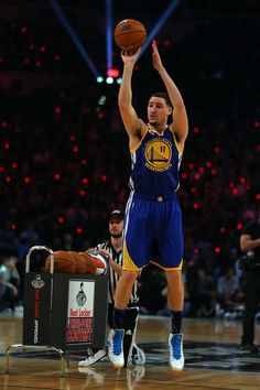 That time Klay beat Steph! 2016 3 point contest