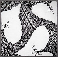 Zentangles- a new art form I learned at the SRVF (4-H volunteer conference in Little Rock, AR).  Tangles are different doodles actually.  Mixed together with other tangles the results so rewarding.