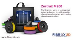 Zortrax M200 - One of the most reliable 3D printers in its segment, allowing you to print extensive jobs with almost no maintenance.