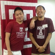 #TBT This was taken about 2 years ago at TUJ Open campus. Yuki already graduated a year ago now working for a big IT company in Japan. (Can you believe it from looking at this picture? :p ) YukiさんはもうTUJを卒業して大手IT企業に勤めています時が経つのは早いですねTime flies but memories last forever. #TUJapan #TUJ #tokyo #azabu #opencampus #memorable #留学 #英語 #studyabroad by tujapan
