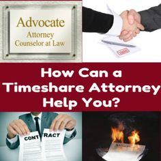 How Can a Timeshare Attorney Help You?