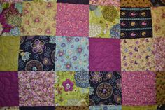 Modern Twin Size Blanket Quilt for Teen Child or by shopsewcrazy, $675.00