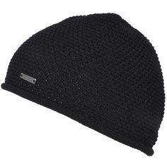 Plain Knit Long Beanie Skull Cap Winter Snowboard Ski Hat Adult OSFM Black New
