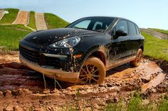 There's also an off-road course for Porsche Cayenne enthusiasts.