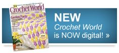 Crochet World ... Final step to completing your fine thread crochet peice is shaping and blocking.