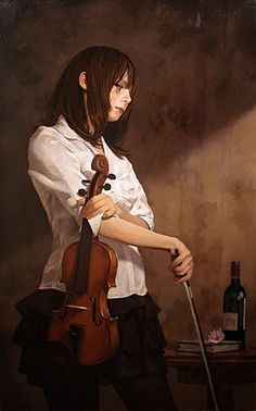 [pixiv] A harmony played just for you: Violin Collection! - pixiv Spotlight