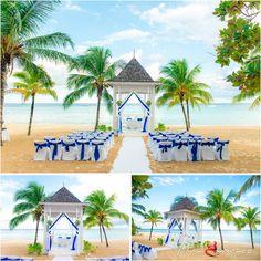 Destination Wedding: Ocho Rios. Jamaica - RIU Ocho Rios wedding - Weddings by…