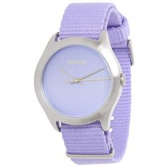 Nixon The Mod (300 SAR) ❤ liked on Polyvore featuring jewelry, watches, accessories, bracelets, часы, casual watches, pastel purple, purple jewelry, mod watches and nixon watches