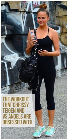 The workout that Chrissy Teigen and the VS Angels' are obsessed with and now we are too