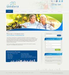 Sundara Condominiums web design by oxyart