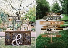 rustic outdoor wedding details and ideas