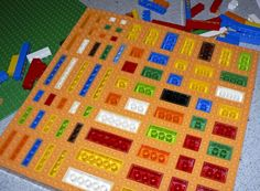 Making a Lego mold