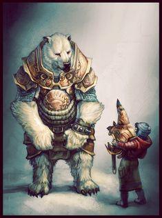 His Dark Materials Fantasy Warrior, Fantasy Races, Fantasy Rpg, Arte Furry, Furry Art, Character Concept, Character Art, Concept Art, Illustration Fantasy