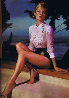 Kate Moss by Mario Sorrenti for Harper's Bazaar