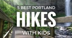 Five Best Portland area hikes with kids. Get them hiking this summer in the Columbia River Gorge and on Mt Hood in Oregon and Washington. Hiking Near Portland Oregon, Portland Hikes, Oregon Travel, Portland Activities, Camping Activities, Hiking With Kids, Travel With Kids, Portland With Kids, Hiking Spots