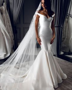 15 Awesome Strapless Wedding Dresses For Every Bride ❤ strapless wedding dresses simple mermaid leah da gloria #weddingforward #wedding #bride #weddingoutfit #bridaloutfit #weddinggown