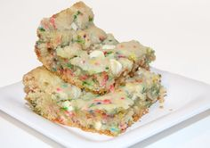 Cake Batter Blondies | The Angieriver Show