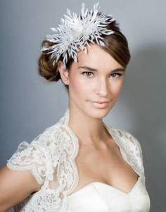 Snowflake Feather Headdress