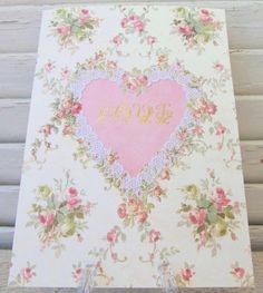 """Carol Wilson Valentine's Card - Rose Bouquet - Love by Carol Wilson Fine Arts, Inc.. $3.99. Beautifully embossed greeting card with 5"""" x 7"""" envelope."""