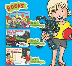 Educational books for children. Discount for childcare centres and schools.