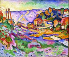 Unusually colorful Georges braque-paisagem1