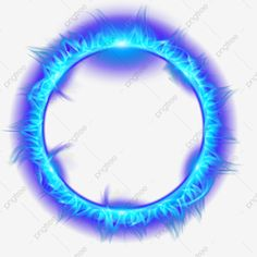 Blue Flame Burning Ring Of Fire Blue Flames Fire Love Png