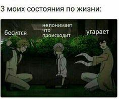 Это правда 😅 Stupid Memes, Funny Jokes, Hello Memes, Anime Mems, Bongou Stray Dogs, Art Memes, Manga Comics, Laugh Out Loud, Manga Anime