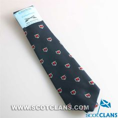 Colquhoun Clan Crest Tie