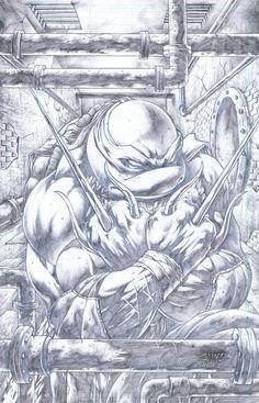 Teenage Mutant Ninja Turtles - Raphael by Emil Cabaltierra