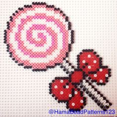 Hama bead lollipop by hamabeadpatterns123