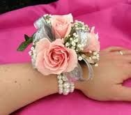 light pink corsages - Google Search