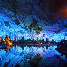 The Reed Flute Cave in Guilin, China. | 15 Ultimate Places For Your Dream Getaway