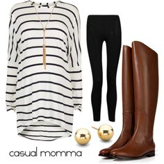 A fashion look from September 2013 featuring Influence leggings, Fendi boots and Matthew Williamson necklaces. Browse and shop related looks.