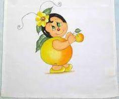 Resultado de imagem para risco de frutas semaninha para pintar pano de prato
