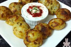 Baked Sabudana Vada - Tapioca Pearl Fritters