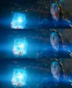 I NEED TO KNOW WHAT'S GOING ON IN THIS SCENE << I know, right? I'm super curious but also terrified for Loki at the same time.