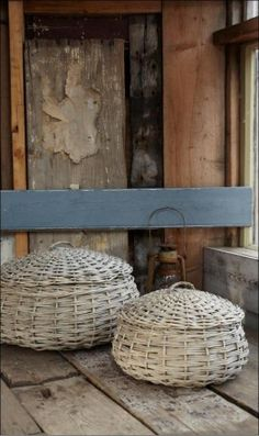 two baskets