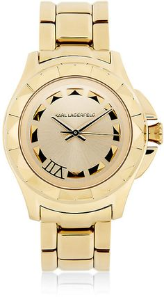 Gold 36mm Watch - Lyst