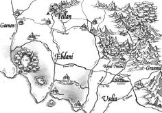 Map: The Royal Precinct and Central Realms
