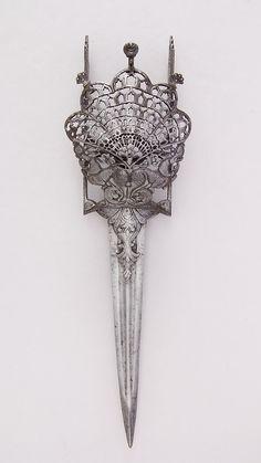 Guarded Dagger (Katar) | Indian, Thanjavur | The Metropolitan Museum of Art