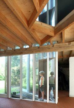 architecten de vylder vinck taillieu Architecture Design, Windows, Building, Interior, Extensions, Projects, House, Bow, Spaces