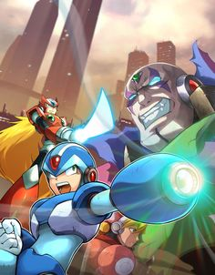 Mega Man X Collection by UdonCrew.deviantart.com on @DeviantArt