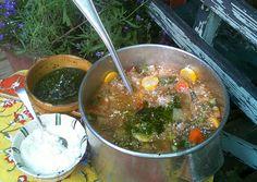 Soupe Au Pistou: Recipes + Menus : gourmet.com
