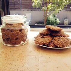 עוגיות שיבולת שועל ודגנים. טעימות בטירוף!
