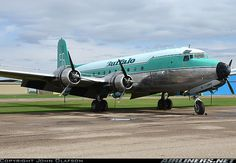 Buffalo Airways Douglas C-54G Skymaster (DC-4) (C-GBNV) at Red Deer (CYQF) Alberta.