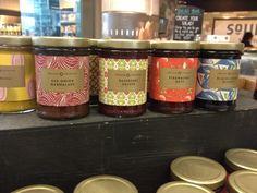 England Preserves - jam packaging