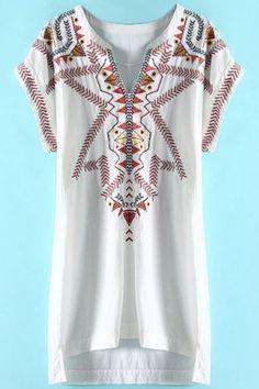 retro-embroidery-slit-neck-mini-dress
