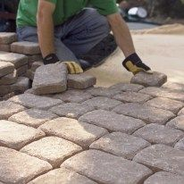 What is your process to install pavers or a retaining wall?