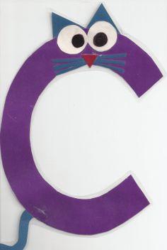Preschool Crafts | Miss Maren's Monkeys Preschool: Letter C - Tues 09/28/10